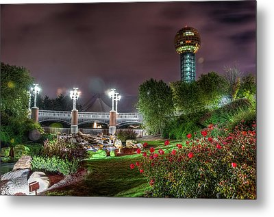 The Sunsphere Metal Print