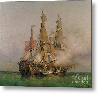 The Taking Of The Kent Metal Print