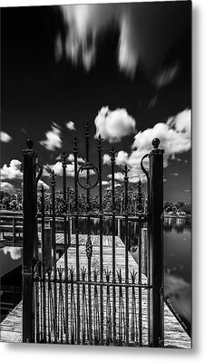 The Tee Gate  Metal Print by Marvin Spates