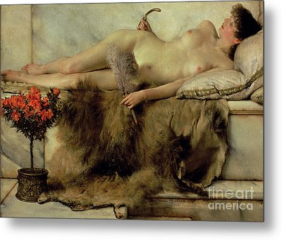 The Tepidarium Metal Print by Sir Lawrence Alma-Tadema