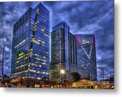 The Terminus Complex Cousins Property Buckhead Atlanta Art Metal Print by Reid Callaway