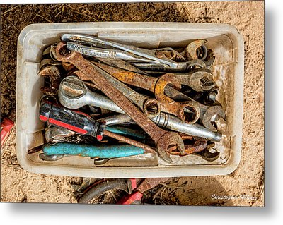 The Toolbox Metal Print by Christopher Holmes