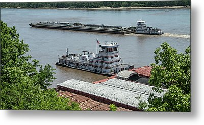 The Towboat Buckeye State Metal Print by Garry McMichael