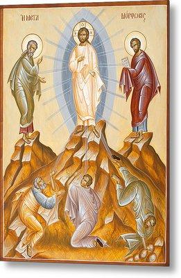 The Transfiguration Of Christ Metal Print