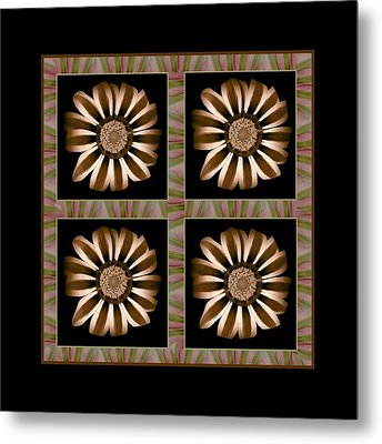 The Transformation Of Flower 1 - Stasis Metal Print by Jacqueline Migell
