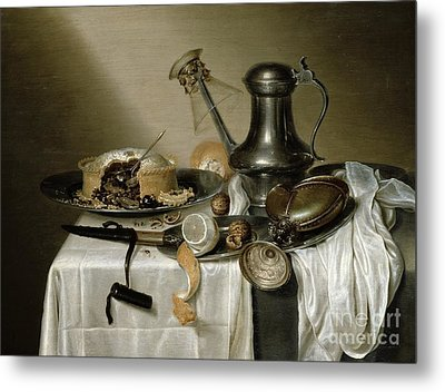 The Truffle Pie Metal Print by Maerten Boelema de Stomme