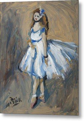 The Truth Lies Between Aguste Renoir And Marlene Dumas Metal Print