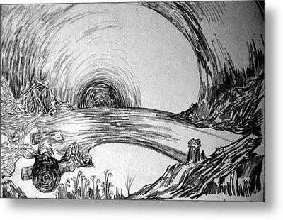The Tunnel Metal Print by Padamvir Singh