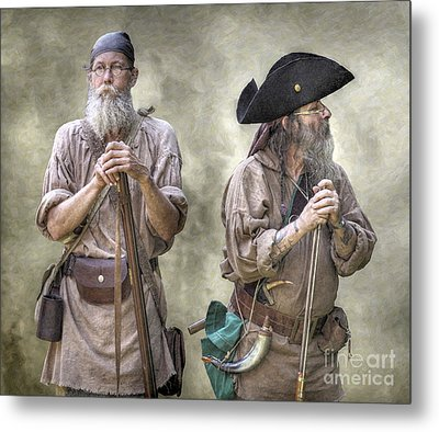 The Two Frontiersmen  Metal Print