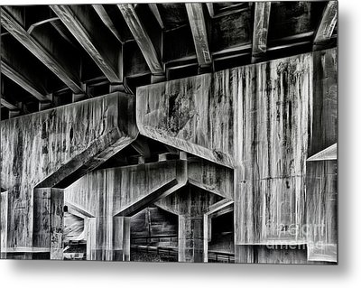 Metal Print featuring the photograph The Urban Jungle by Brad Allen Fine Art