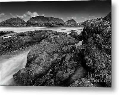 The View From The Rocks Metal Print