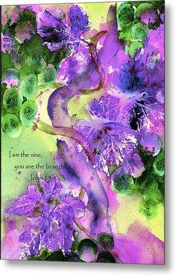 The Vine Metal Print by Anne Duke