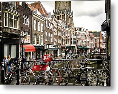 The Vismarkt In Utrecht Metal Print by RicardMN Photography