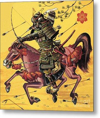 The War Lords Of Japan Metal Print