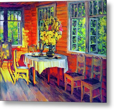 The Warmth Of Home Metal Print