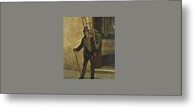 The Watercress Seller Metal Print