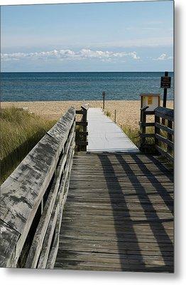 Metal Print featuring the photograph The Way To The Beach by Tara Lynn