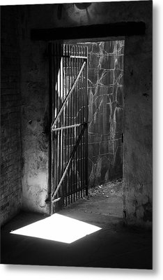 The Weathered Wall Metal Print