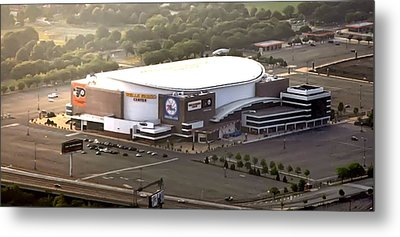 The Wells Fargo Center Metal Print by Bill Cannon