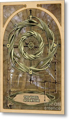 The Wheel Of Fortune Metal Print by John Edwards