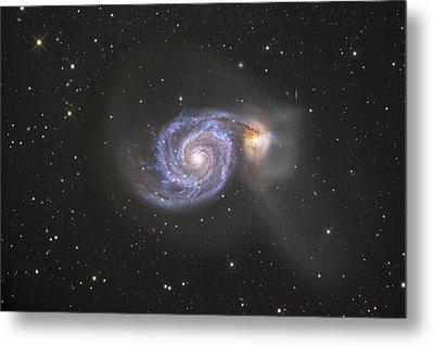 The Whirlpool Galaxy Metal Print by Robert Gendler