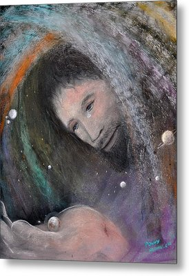 The Whole World Metal Print by Penny Neimiller