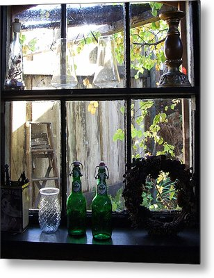 Metal Print featuring the photograph The Window by Mark Alan Perry