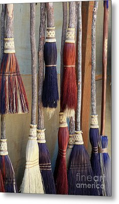 The Witches Brooms Metal Print