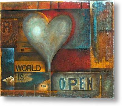 The World Is Now Open Metal Print by Stephen Schubert