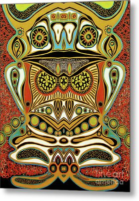 The World Of Patterns Metal Print