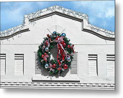 The Wreath Metal Print by Christopher Holmes
