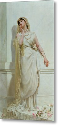 The Young Bride Metal Print by Alcide Theophile Robaudi