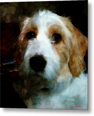 Their Dog Metal Print by Margaret Wingstedt