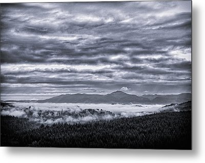 This Is Oregon State No.22 - Above The Clouds Metal Print by Paul W Sharpe Aka Wizard of Wonders