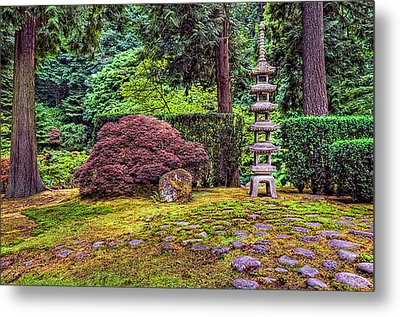 This Is Oregon State No.23 - Sea Of Rocks Metal Print by Paul W Sharpe Aka Wizard of Wonders