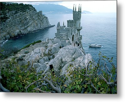 This Neo-gothic Castle Overlooks Metal Print by Steve Raymer