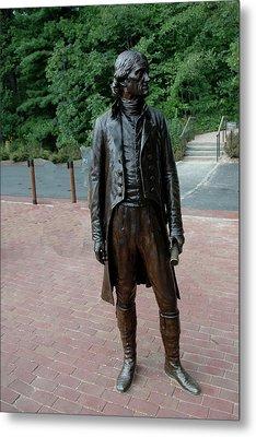 Thomas Jefferson At Monticello Metal Print