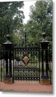 Thomas Jefferson Grave Site Monticello Metal Print
