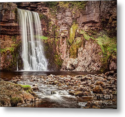 Metal Print featuring the photograph Thornton Force, Yorkshire Dales by Colin and Linda McKie