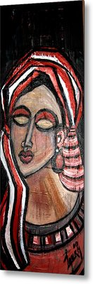 Thoughts Metal Print by Laura Fatta