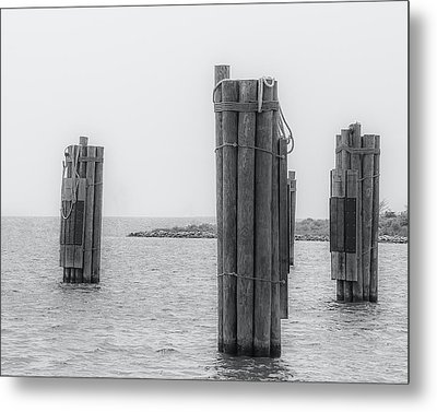 Three Pillars Metal Print