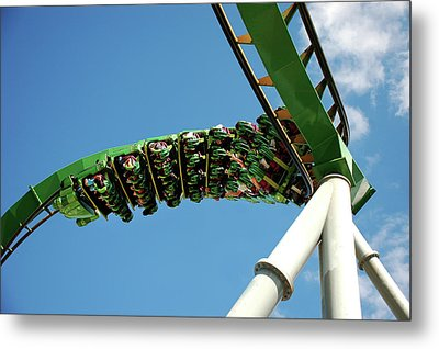 Thrill Ride Metal Print