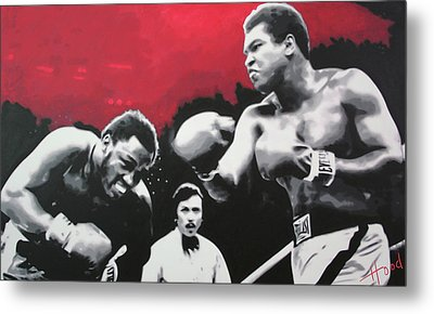 Thrilla In Manila Metal Print