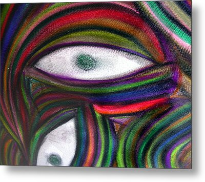Through Other's Eyes Metal Print by Dawn Hough Sebaugh