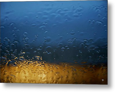 Through The Windshield Metal Print by Tom Romeo