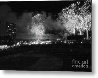 Thunder Over Louisville In Infrared Metal Print by Matthew Winn