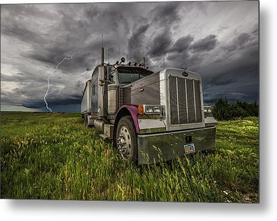 Metal Print featuring the photograph Thunderstruck by Aaron J Groen