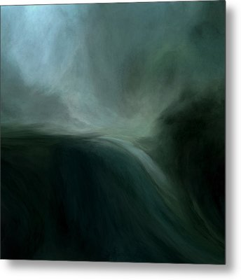 Tidal Wave Metal Print by Lonnie Christopher