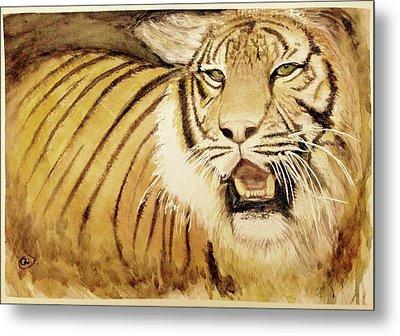 Tiger King Metal Print by Annie Poitras