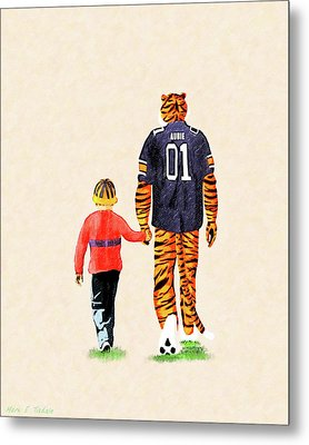 Tiger Tales From Auburn Metal Print